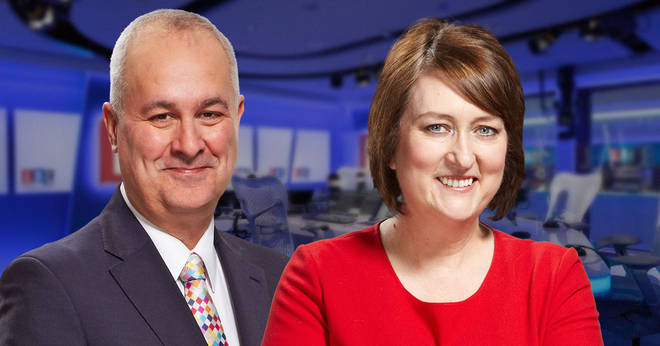 Iain Dale and Jacqui Smith