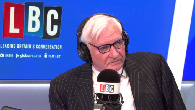 Harvey Proctor was very emotional as he spoke to Iain Dale