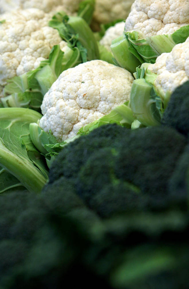 Britain is experiencing a cauliflower shortage
