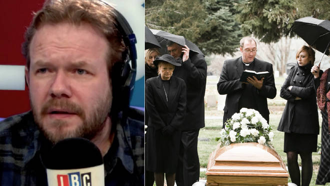 James O'Brien got a call from a funeral whistleblower