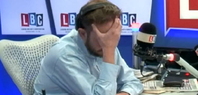 The call left James O'Brien with his head in his hands