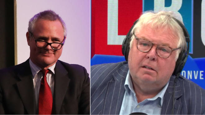 "Nick Ferrari&squot;s interview with Richard Braine was labelled ""extraordinary"""
