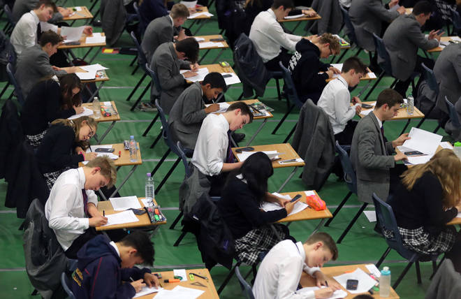 A Level students have spent two years working hard to sit their exams