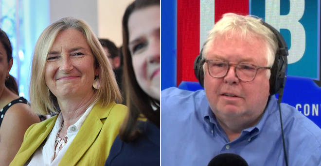 Nick Ferrari challenged Sarah Wollaston over her move to the Lib Dems