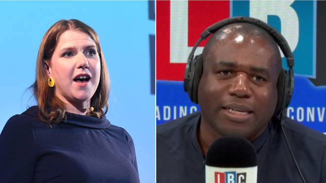 David Lammy had a message for Jo Swinson