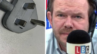 James was lost for words by this caller's reason for voting for Brexit