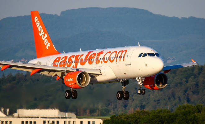 The incident happened on an EasyJet flight from France to England