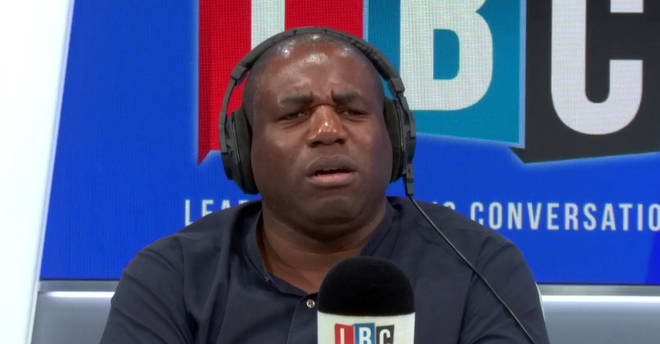 David Lammy took exception to what this caller told him