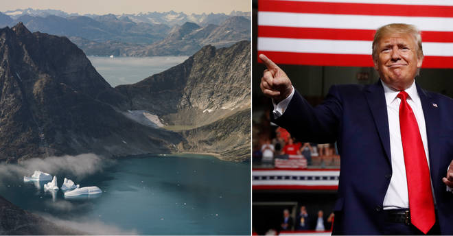 Donald Trump is interested in buying Greenland
