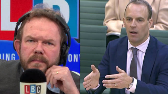 James O'Brien looked through Dominic Raab's comments