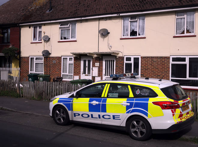 Police have searched Fuller's home in Stanwell, Surrey