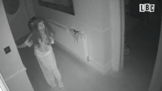 The Terrifying Moment The Victim Saw The Burglars