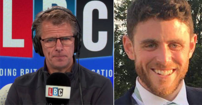 John Apter spoke to Andrew Castle following the death of PC Andrew Harper