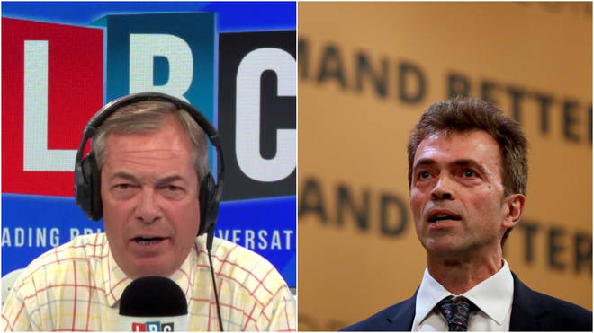 Nigel Farage was speaking to Tom Brake the Lib Dem Brexit spokesperson