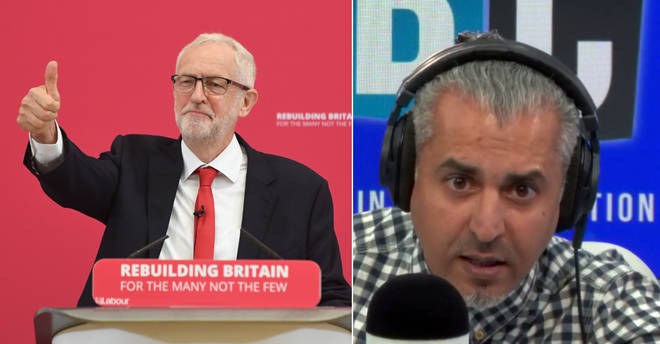 Maajid Nawaz had strong words for Jeremy Corbyn