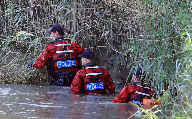 Specialist diving teams have been brought in for the search.