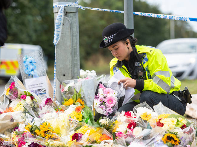 Thousands of tributes have been left online and at the scene.