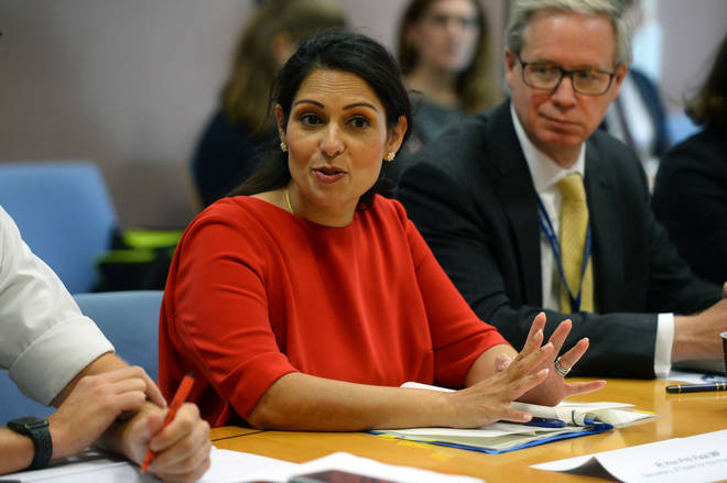 Home Secretary Priti Patel has announced her plans to reduce knife crime.