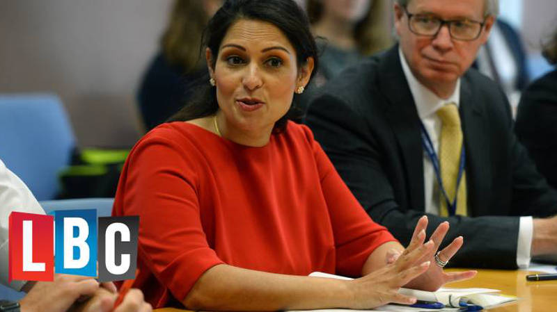 Priti Patel Announces Knife Crime Curfews For 12-Year-Olds