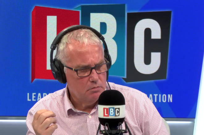 Eddie Mair was speaking to a former Downing Street advisor