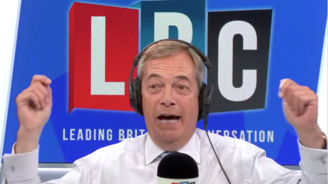 Nigel Farage was discussing Prince Harry