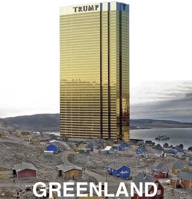 Donald Trump's Greenland joke