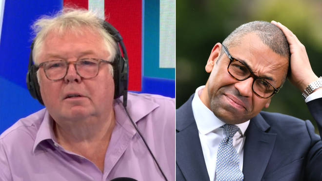 Nick Ferrari grilled James Cleverly over the settled status scheme