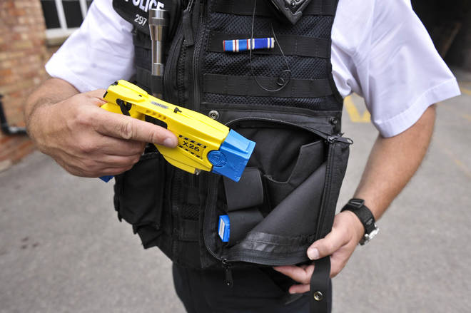 Tasers will be offered to the 1, 044 officers in the force