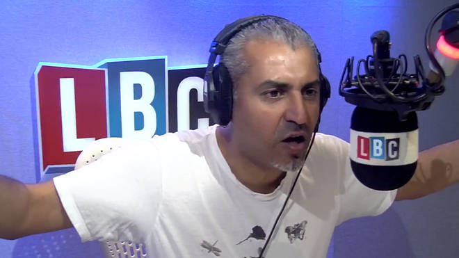 Maajid Nawaz got very frustrated with this caller