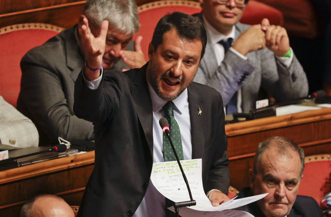Prime Minister Guiseppe Conte announced his resignation after the collapse of the ruling coalition