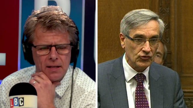 "John Redwood told Andrew Castle the EU is ""playing politics"" with Ireland."