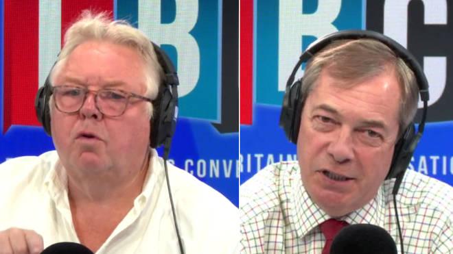 Nick Ferrari spoke to Nigel Farage
