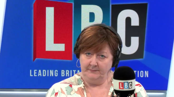 Shelagh Fogarty challenged this caller on his comments