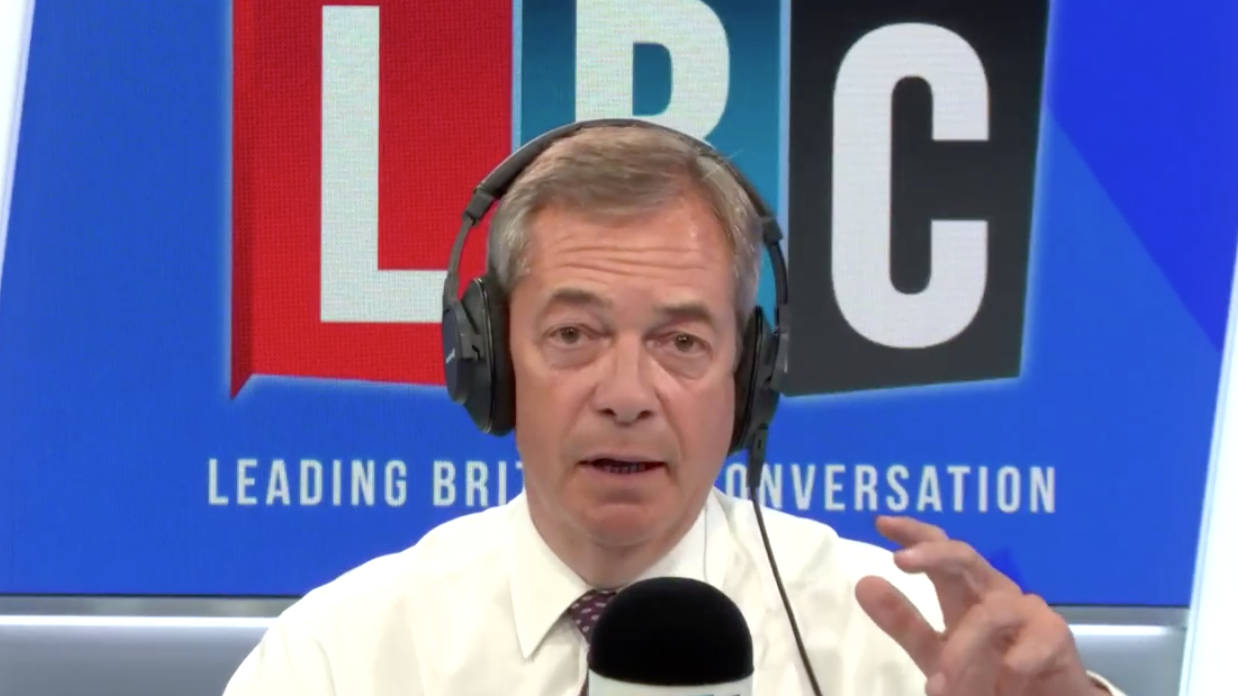 "Nigel Farage: Why Spend ""Vast Amounts Of Money"" On HS2 To Get To Manchester 20 Minutes Quicker"