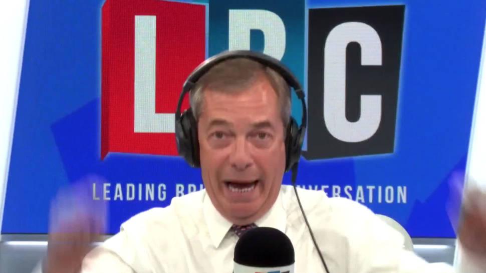 "Nigel Farage Brands Boris Johnson ""Desperate"" For Flying To Berlin ""Like May Did"""