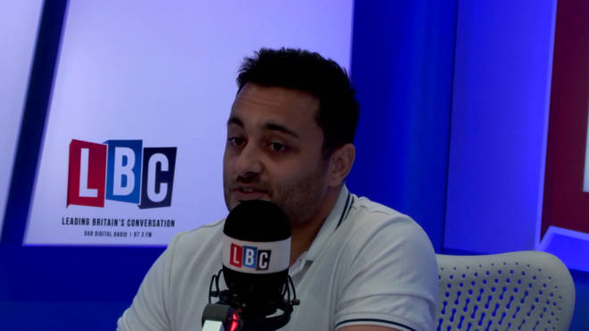 Saleem Dadabhoy tells Iain Dale he feels like a number for the Home Office