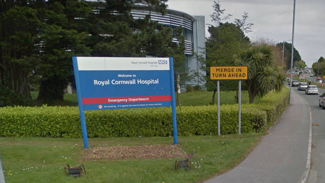 The Royal Cornwall Hospital in Exeter