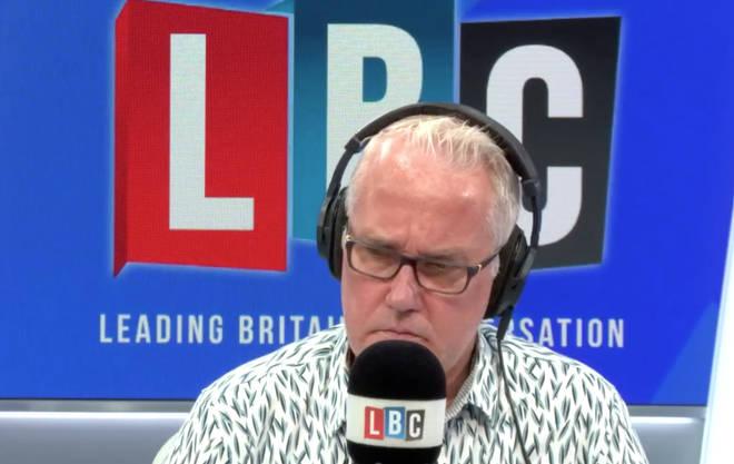 Eddie Mair was speaking to a former senior EU official