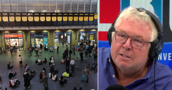 Nick Ferrari is angry about the closure of King's Cross