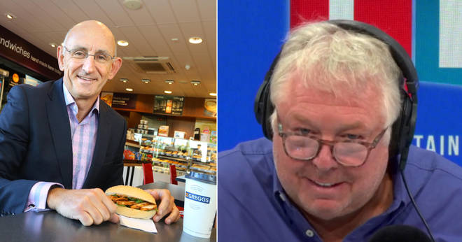 Nick Ferrari heard Greggs are planning vegan versions of their top products