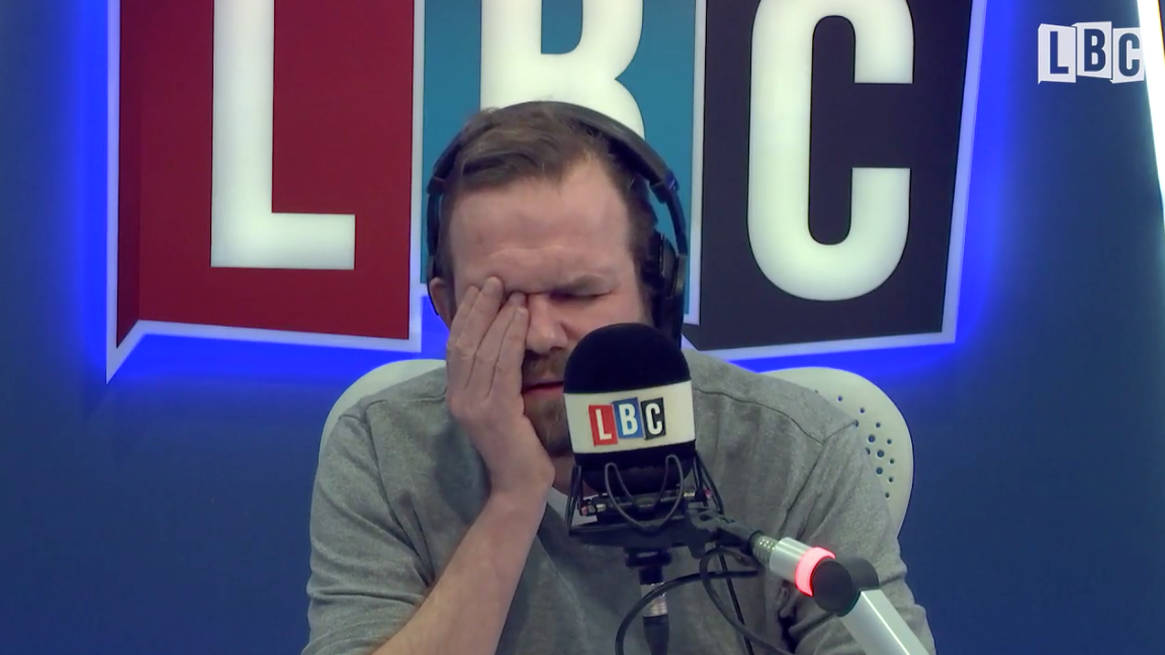 "James O'Brien's Brexit Top 10: 1. ""I Voted Brexit Because There Are Too Many Brown Faces"""
