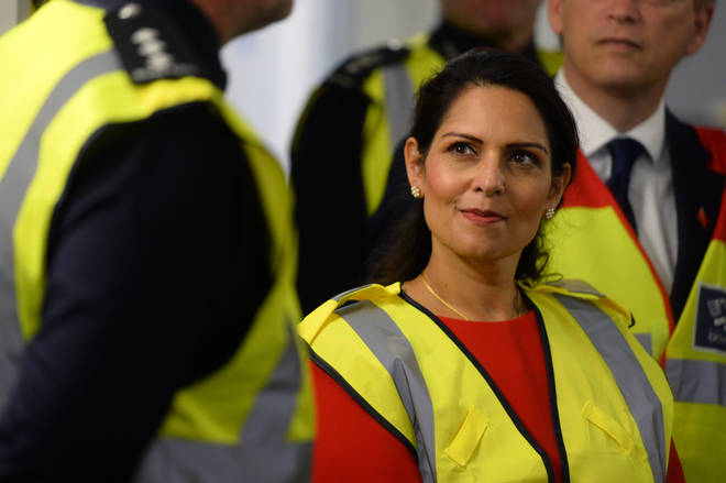 Priti Patel will hold talks with her French counterpart after dozens of migrants tried to cross the Channel