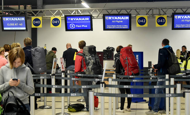 Many people who took part in the survey are unsatisfied with Ryanair's service