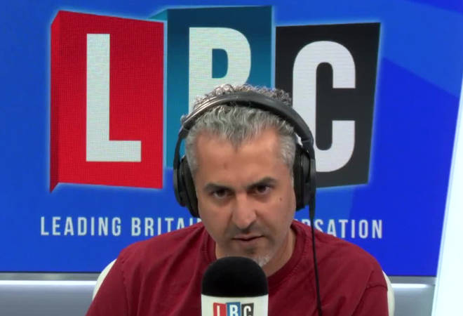 Maajid Nawaz took this caller to task