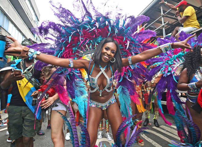 The carnival takes place throughout West London