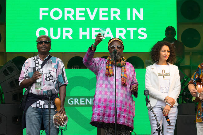 A silence will be held for Grenfell again this year