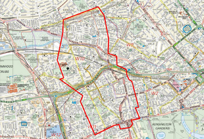 A  Section 60 Criminal Justice and Public Order has been put in place across the Notting Hill Carnival geographical area and areas of Harrow Road.
