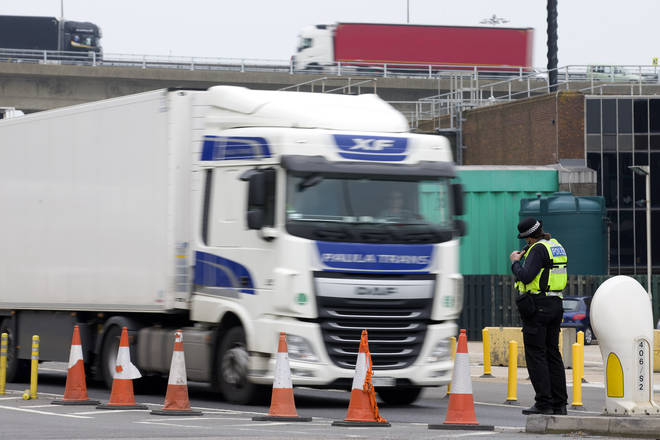 There is uncertainty of what kind of border checks will be required to freight entering and exiting the UK from the end of October
