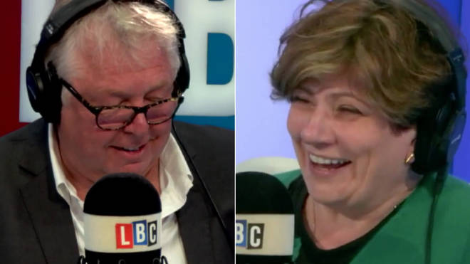Nick Ferrari spoke to Emily Thornberry