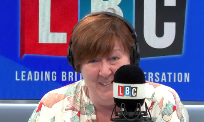 Shelagh was left laughing with disbelief